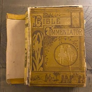 1882 Vintage Pictorial Bible